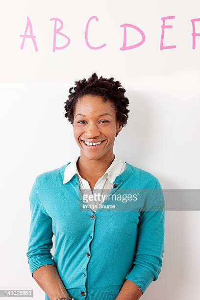 Portrait of a female preschool teacher