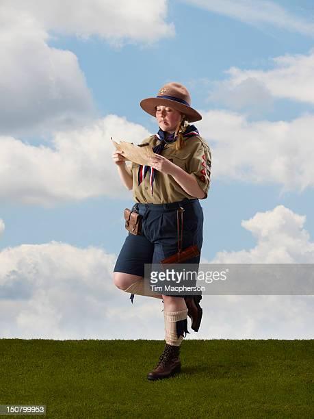 Portrait of a female scout