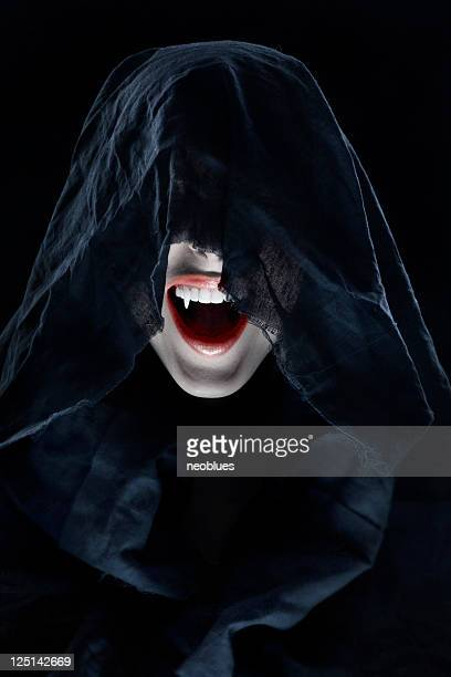 portrait of a female vampire. - vampire stock pictures, royalty-free photos & images