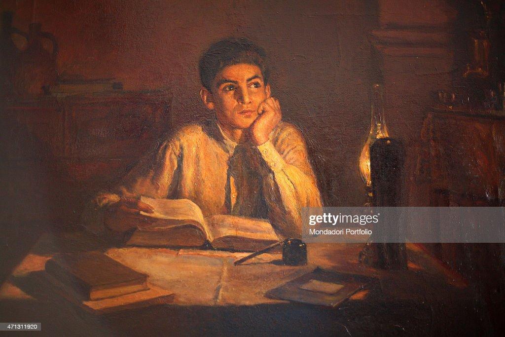 Vučićeva Srbija - Page 8 Portrait-of-a-fifteen-years-old-joseph-stalin-studying-at-night-at-picture-id471311920