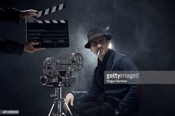 Portrait of a filmmaker