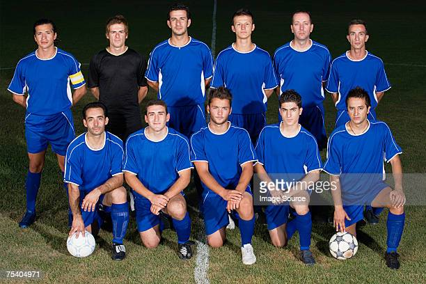Portrait of a football team