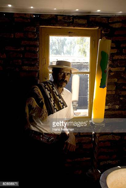 portrait of a gaucho - uruguay stock pictures, royalty-free photos & images