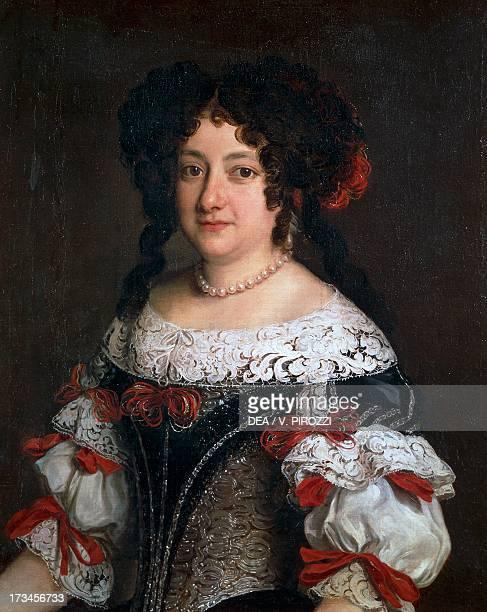 Portrait of a Gentlewoman, by Jacob Ferdinand Voet , oil on canvas, 76x60 cm. Rome, Galleria Spada