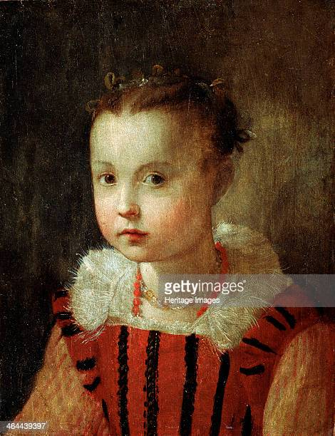'Portrait of a Girl' 16th or early 17th century Found in the collection of the Regional A Deineka Art Gallery Kursk Russia