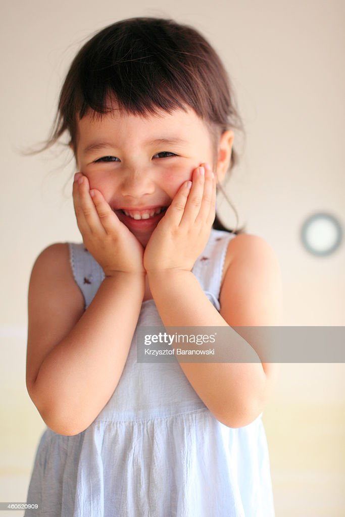 A Portrait of a Girl : Stock Photo