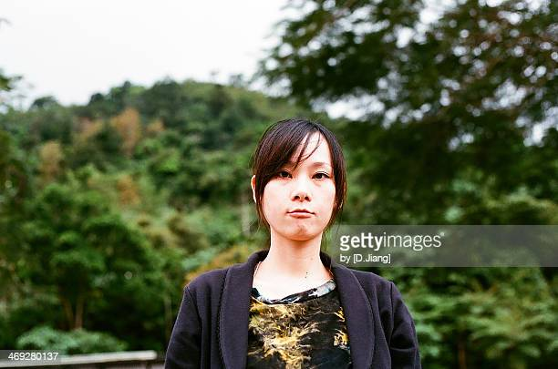 portrait of a girl - hualien county stock pictures, royalty-free photos & images