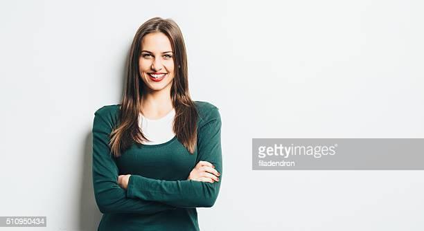Porträt von ein Mädchen