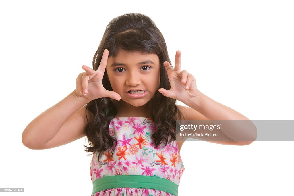 Portrait of a girl : Stock Photo