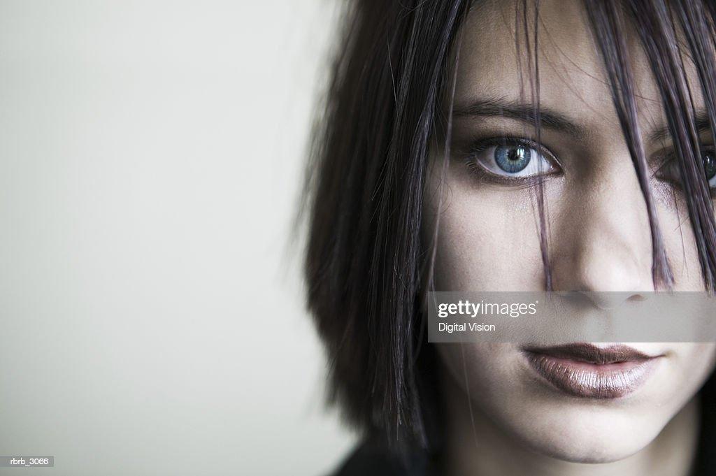 Portrait of a girl : Foto de stock