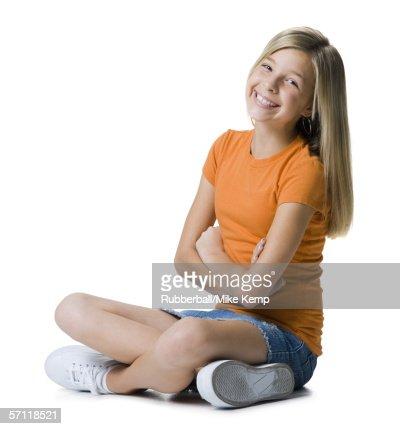 Sitting Cross Legged