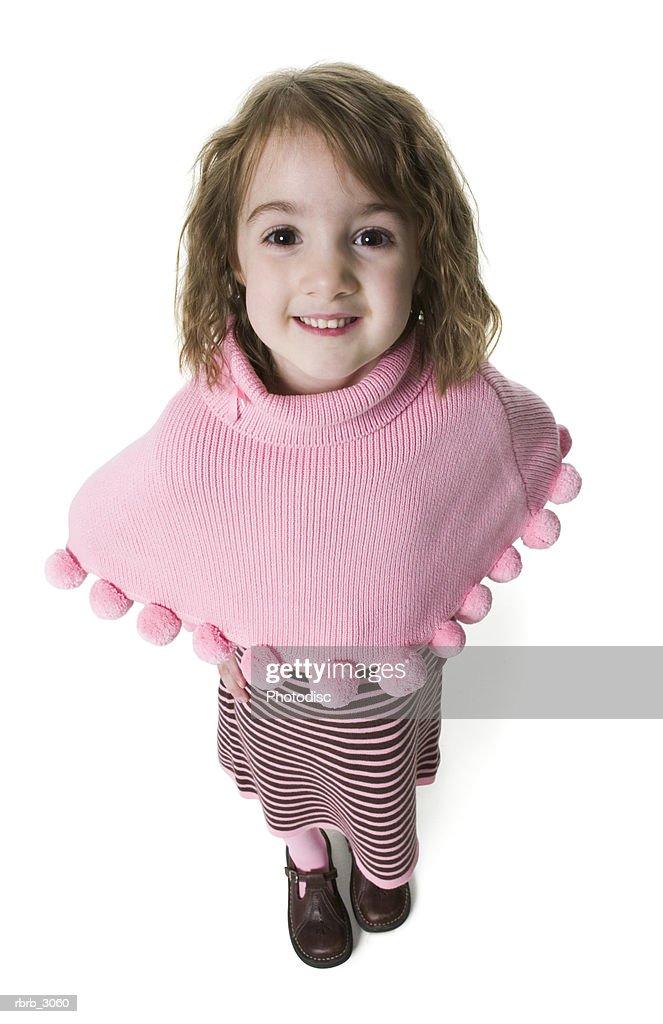 Portrait of a girl standing : Foto de stock