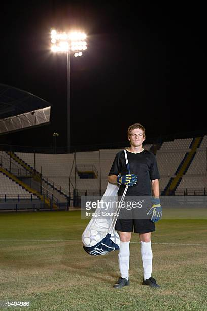 Portrait of a goalkeeper
