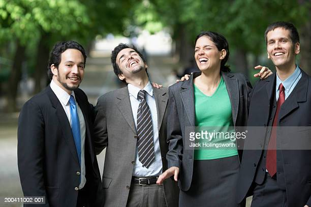 Portrait of a group of business executives