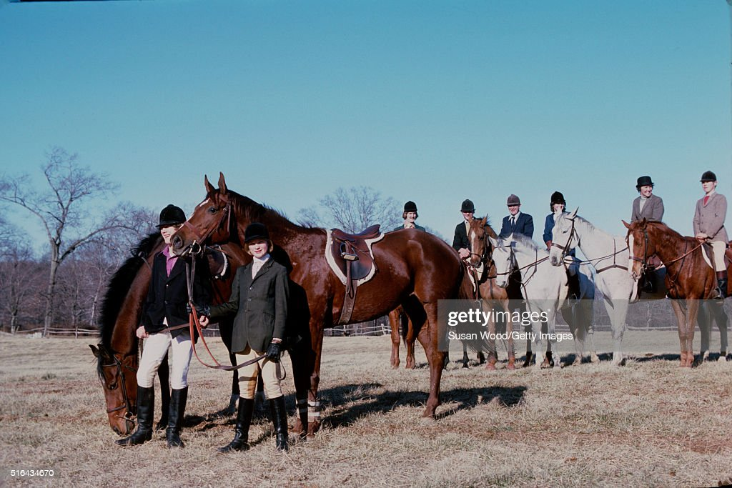 Portrait Of A Group Of Horse Riders As They Pose Together On The News Photo Getty Images