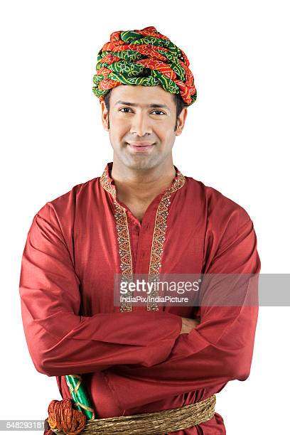 portrait of a gujarati man - kurta stock pictures, royalty-free photos & images