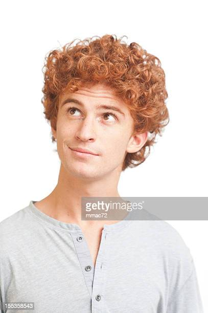 Portrait of a Guy with Red Hair