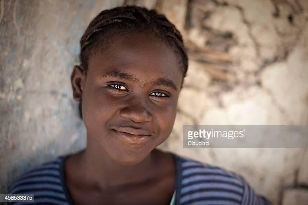 Portrait of a haitian woman