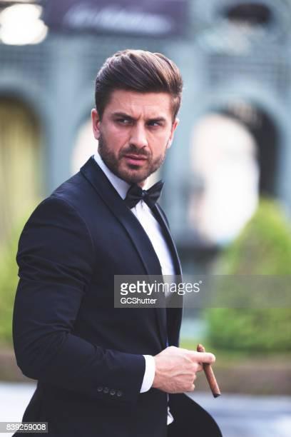 Portrait of a Handsome Successful Businessman