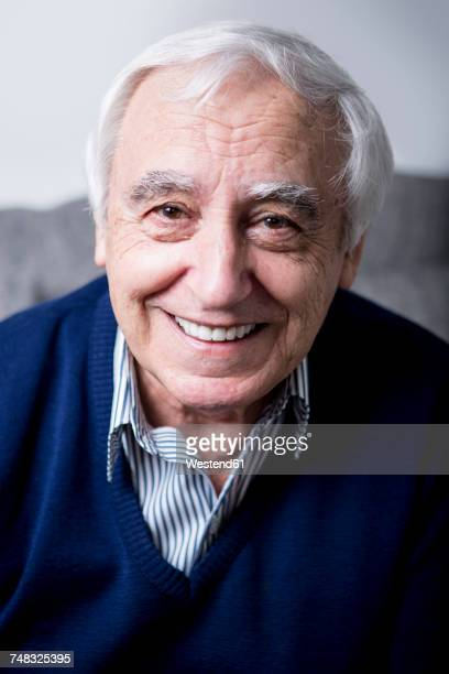 Portrait of a happy senior man