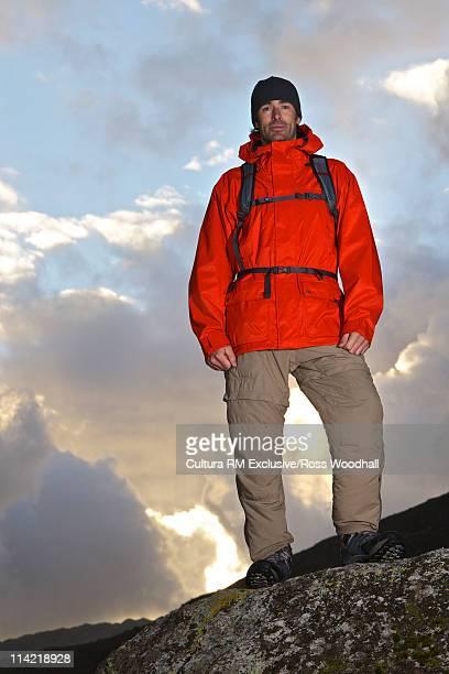 Portrait of a hill walker