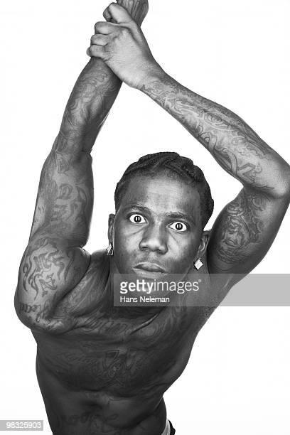 Portrait of a hip hop dancer