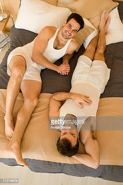 portrait of a homosexual couple - human relationship stock pictures, royalty-free photos & images