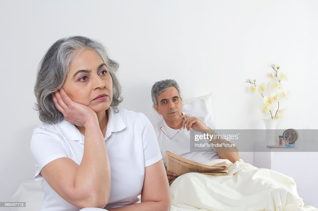 Portrait of a husband and wife : Stock Photo