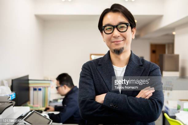 portrait of a japanese entrepreneur - asia stock pictures, royalty-free photos & images
