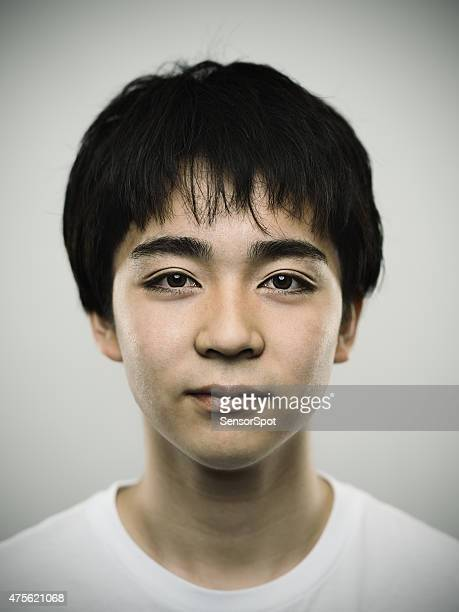 ポートレート、日本のティーンカメラ目線