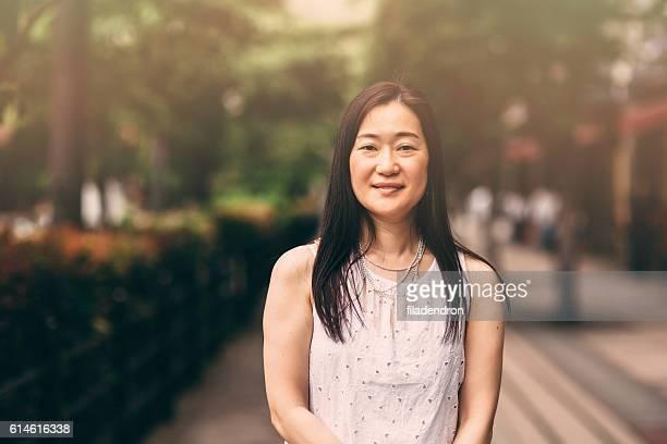 Porträt einer japanischen Frau