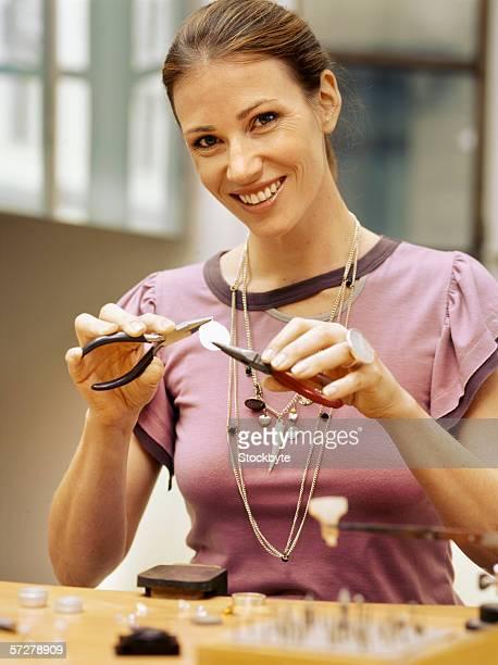 Portrait of a jewlerysmith