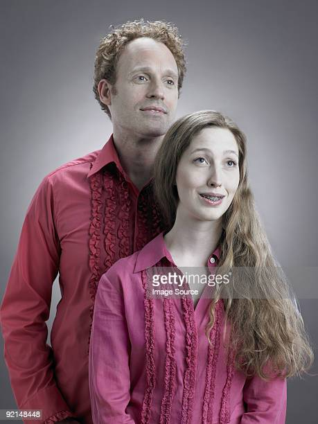 Portrait of a kitsch couple