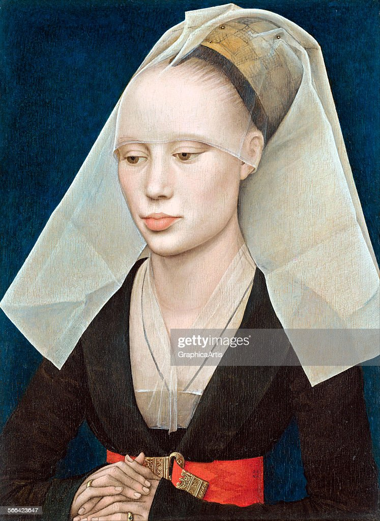 Portrait of a Lady by Rogier van der Weyden (Netherlandish, 1399/1400 - 1464); oil on panel, circa 1460, from the National Gallery, Washington DC.