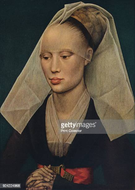 'Portrait of a Lady' c1460 The painting is part of the Mellon Collection National Gallery of Art Washington DC From Masterpieces of Painting edited...