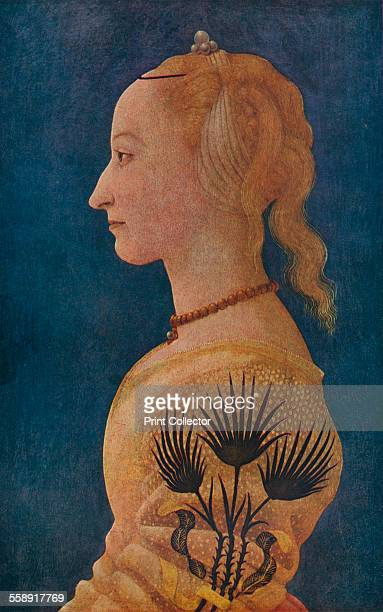 'Portrait of a Lady' c1465 Painting housed at The National Gallery London From The Connoisseur Volume XCI edited by F Gordon Roe [The Connoisseur Ltd...