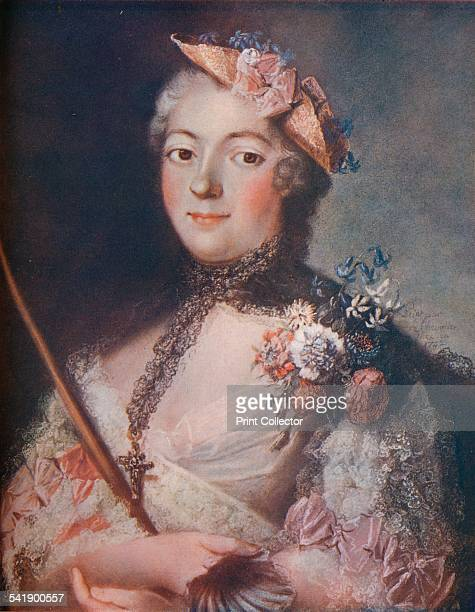 'Portrait of a Lady' c18th century From The Connoisseur Vol XXII [Otto Limited London 19089]Artist Le Chevalier