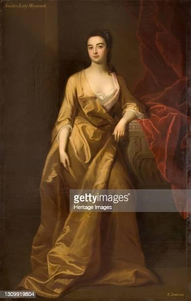 Portrait Of A Lady Maynard, 1745. Artist Enoch Seeman. .