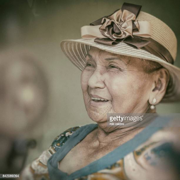 portrait of a lady - rob castro stock pictures, royalty-free photos & images