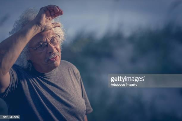 Portrait of a Latin mature man