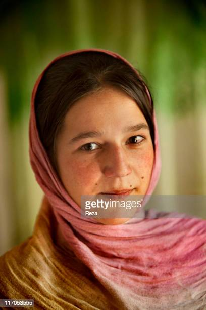 Portrait of a little girl May 15 2009 in Bazarak Afghanistan