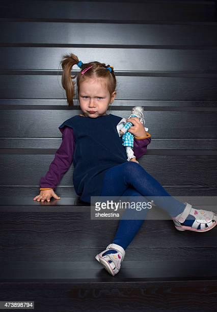 Porträt von einem kleinen Mädchen