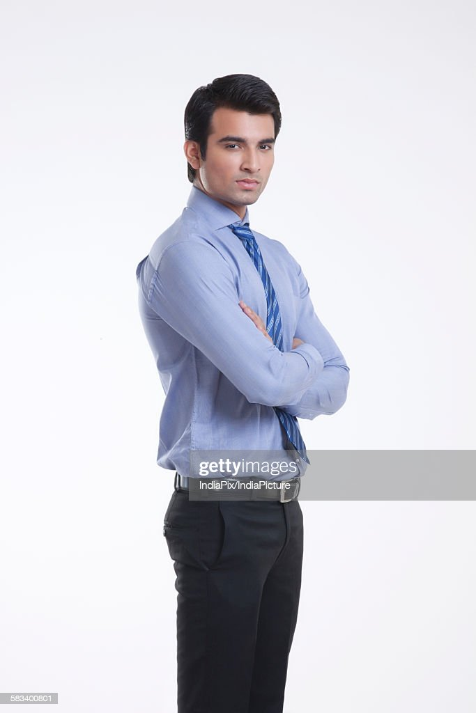 Portrait of a male executive : Stock Photo