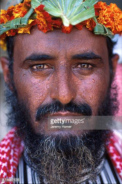 Portrait of a male of the Flower People of Azir