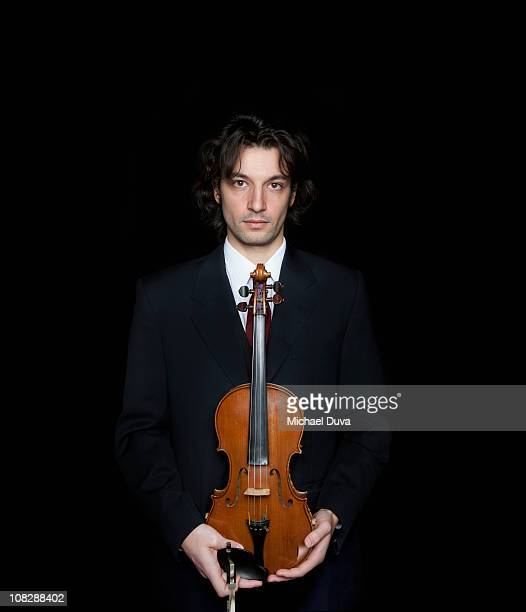 portrait of a male violinist