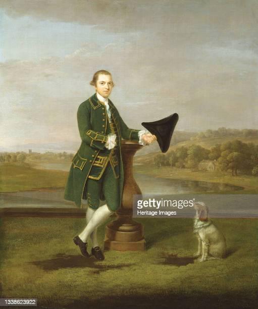 Portrait of a Man, 1763. Artist Arthur Devis.