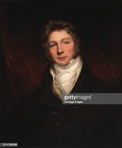 Portrait of a Man, 19th century. Artist Unknown.