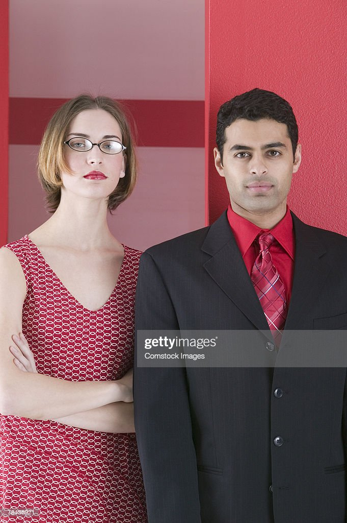 Portrait of a man and woman : Stockfoto