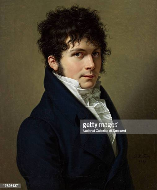 Portrait of a Man by FrancoisXavier Fabre 1809 Oil on canvas Purchased with the aid of the Art Fund 1992'
