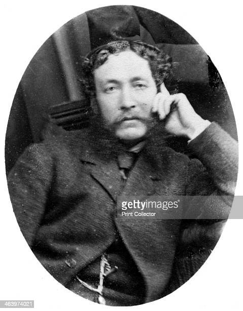 Portrait of a man c18801909 The photographer's studio was located at 55 Sackville Street Dublin